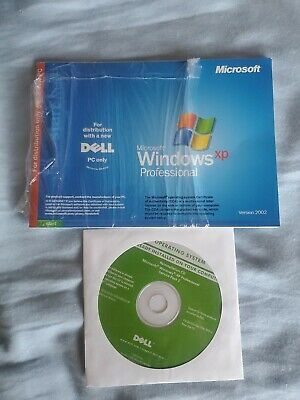 DELL Windows XP Professional Edition Reinstallation CD Service Pack 1A NEW