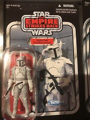 Hasbro Star Wars Vintage Collection Boba Fett Prototype Armor VC61 Unpunched