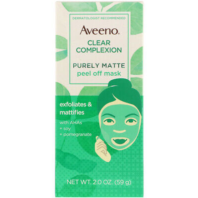 Aveeno Clear Complexion Purely Matte Peel off Mask 2 oz pack of 3