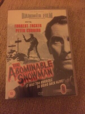THE ABOMINABLE SNOWMAN Hammer Horror DVD: Peter Cushing: + Viewing Notes booklet