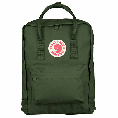 Fjall Raven Unisex Kanken Backpack Bag Forest Green Accessories School Casual Ad