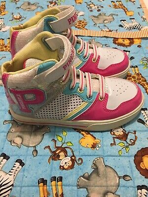 Girls High Top Trainers Size 12