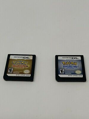 Pokemon HeartGold And SoulSilver Versions Nintendo DS Authentic Tested