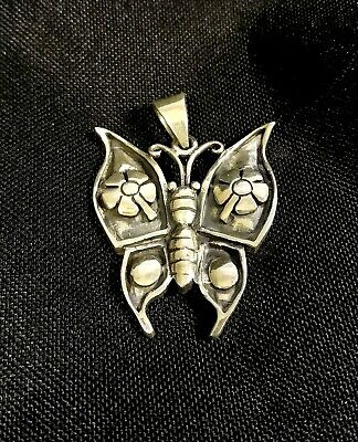 6 Large Sterling Silver Butterfly Backs Clutches 6x7mm For Stud Earring #97517