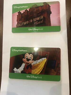 Disney World Orlando (2) 1 day park hopper NO RESTRICTION tickets Ex. 10/28/21!