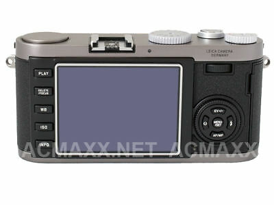 """ACMAXX 2.5"""" HARD LCD SCREEN ARMOR PROTECTOR for LEICA C-Lux3 CLUX3 LUX 3 Lux2 2"""