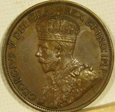 1912 CANADA LARGE CENT KM# 21 ** shipping included **