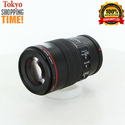 Canon EF 100mm F/2.8 L Macro IS USM Lens from Japan