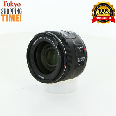 Canon EF 28mm F/2.8 IS USM Lens from Japan