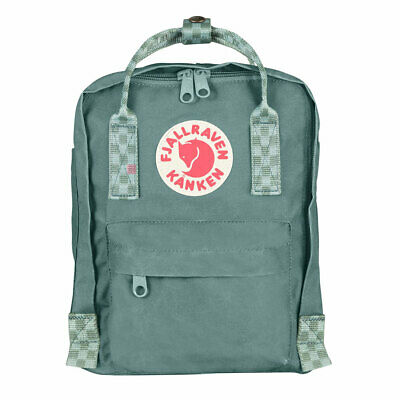 Fjall Raven Unisex Kanken Mini Mochila Bosque Green-Chess Patrón Access