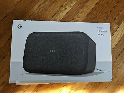 Google Home Max Smart Assistant Bluetooth Wifi Speaker - Charcoal comes w/ box