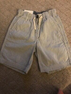 Baby Gap 3 Year Old Shorts Blue And White Stripes-NEW With Tags