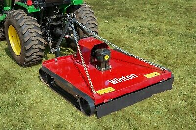 G-TM110 - Topper Mower - 1.1m Wide - For Compact Tractors