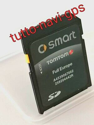 SD MAPPE EUROPA FULL 2019-20 (By Tom Tom) PER SMART 453 SYSTEM (P26) NEW NEW