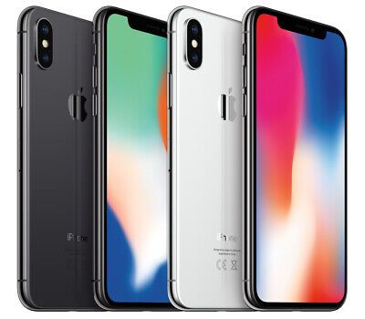 Apple iPhone X / 64GB 256GB / Space Grau Silber / ohne Simlock 5,8 Zoll Display