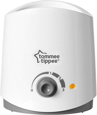 Tommee Tppee Closer to Nature Electrc Baby Bottle and Food Warmer, Whte
