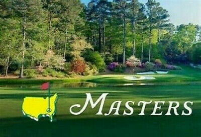 Two (2) 2020 Masters Practice Round Tickets – Monday, April 6, 2020.