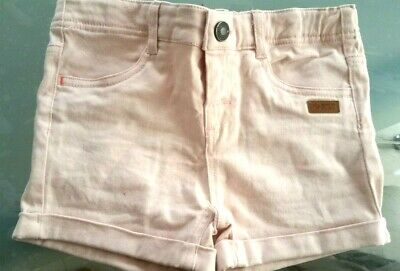 Girls LEGO wear light pink designer denim shorts size 8 years BRAND NEW no tags