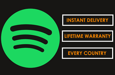 Upgrade Your Spotify Account | Lifetime Warranty | Instant Delivery | Global