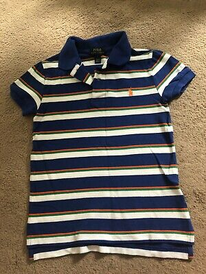 Ralph Lauren Boys Polo Tshirt In Size 6 Years
