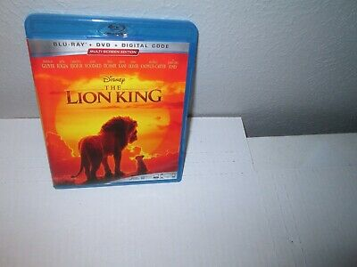 Disney THE LION KING 2019 Live Action Family BLU RAY & DVD Set Chiwetel Ejiofor