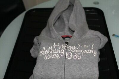 Tommy Hilfiger Girls Logo Hoodie Grey For 14 Years Brand New, See Listing