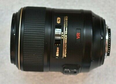 Micro Nikkor 105 mm VR f/2.8 G IF-ED
