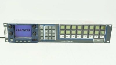 Harris NUCLEUS Broadcast Audio Video LCD Network Control Panel for X75 X85