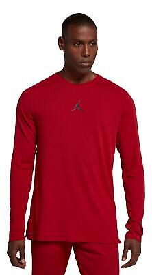 Nike Air Jordan Men's Dri-Fit 23 Alpha Long Sleeve Training Shirt Size Medium