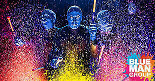 Five (5) Blueman Group Tickets at the Luxor Las Vegas March 12, 2020 @ 7pm