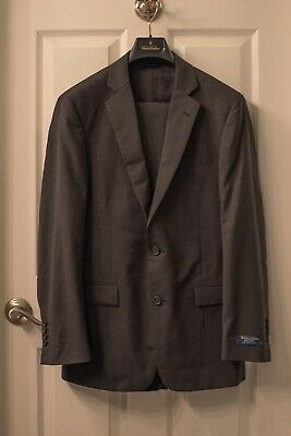 NWT Brooks Brothers Grey Suit 38R Regent Fit BrooksCool $698 MSRP