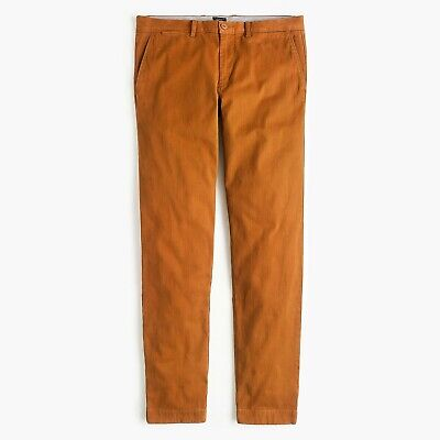 Unopened Nwt J.crew Men's 484 Slim Fit Pant In Soft Chino / Size 30