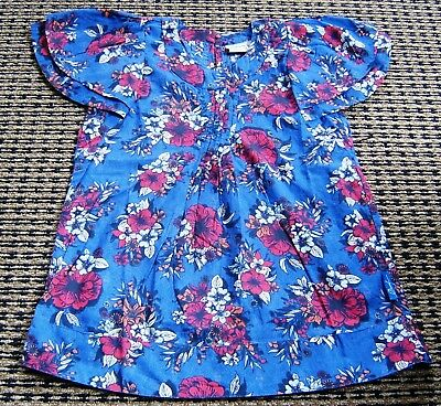 Ouch Girls Summer Floral Top Sz  8 New Without Tags