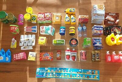 Coles Little Shop Mini Collectables Bulk Lot X 90