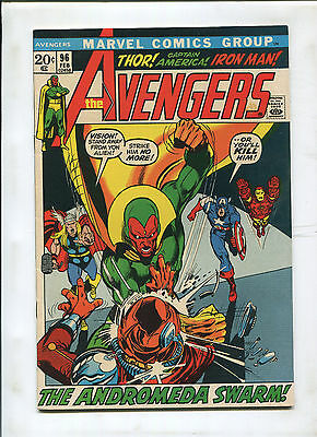 Avengers #96 (8.5) Neal Adams Cover
