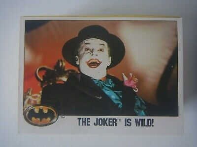 Batman the Movie 1989 Topps 74 trading cards