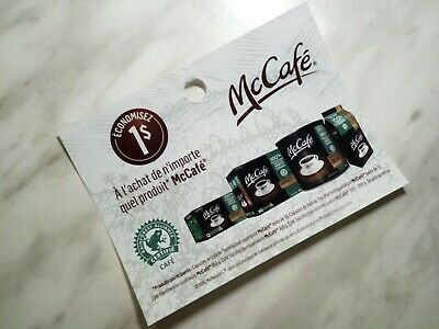 SAVE on  MC CAFÉ Products Coupons - 10x $1.00  (731)
