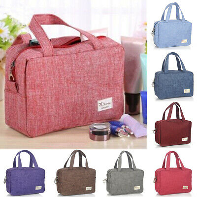 Cosmetic Makeup Bag Travel Wash Organizer Storage Hanging Pouch Toiletry Case