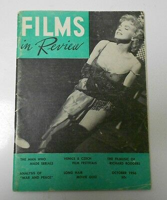 1956 Films en Analyse V.7 #8 Marilyn Monroe Bus Stop FN