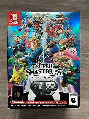Super Smash Bros. Ultimate Special Edition, Nintendo Switch  NEW SEALED