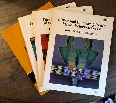 TI Texas Instruments Master Selection Guide 1978 Lot Circuits Semiconductor
