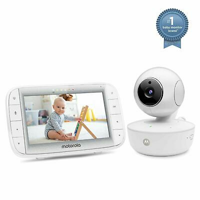 "Motorola 5"" Video Baby Monitor with Night Vision and Zoom/Pan/Tilt (MBP36XL)"