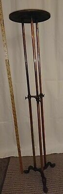 Antique Brass and Copper Adjustable Shop Display Stand by Finlay of London