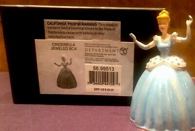 Dept 56*LIGHTED CINDERELLA with CARRIAGE HOLIDAZZLER*New 2017*Christmas*4058017