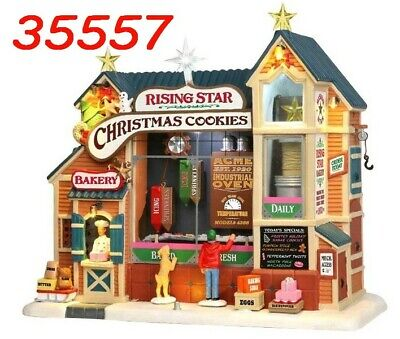 Lemax #35557 Pasticceria Christmas Cookies Rising Star NUOVO