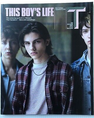 The New York Times Style Magazine - September 9, 2018 - This Boy's Life