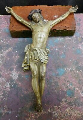Nice Antique wood carving of a Corpus Christie 18th. - 19th. century
