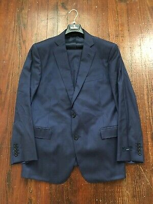 NWT Brooks Brothers Navy Blue Italian Wool Regent Fit Fitted Suit 36R 30W