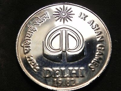 India 10 Rupees 1982 Asian Games