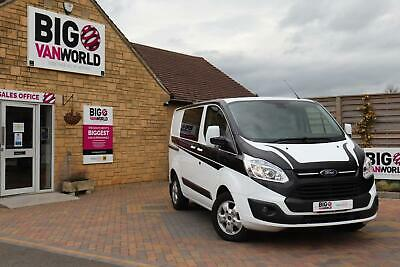 2016 Ford Transit Custom 290 Tdci 155 L1H1 Limited Double Cab 6 Seat Crew Van Co